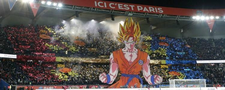 El mosaico de Goku en el Parque de los Príncipes que revolucionó las redes sociales