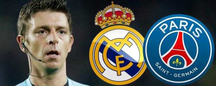 Buen balance blanco con Rocchi, árbitro del Real Madrid – PSG