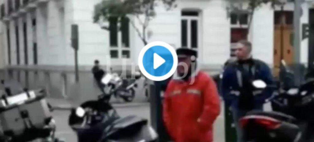 Un ciudadano pone a caldo a Rufián en plena calle de Madrid