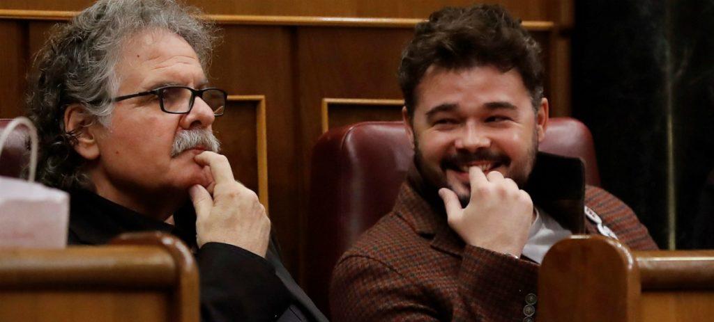 El 'imbécil' de Rufían, el andaluz metido a separatista catalán