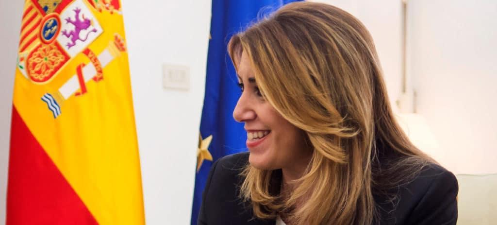 Susana Díaz pide permiso a Hacienda para desvincularse del FLA y emitir 1.000 millones