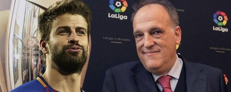 La Liga denunciará las celebraciones ofensivas a raíz de la polémica de Piqué