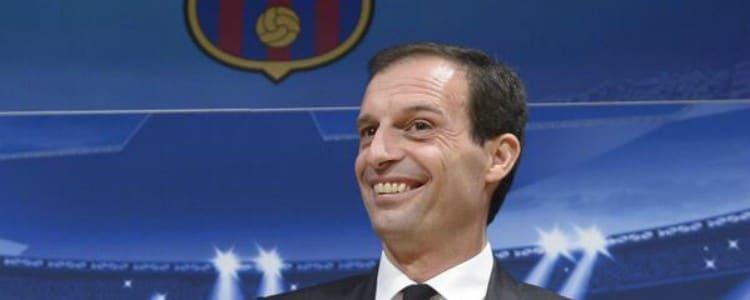 """Allegri, tras clasificar a la Juventus: """"Al único que no quiero es al Barça"""""""