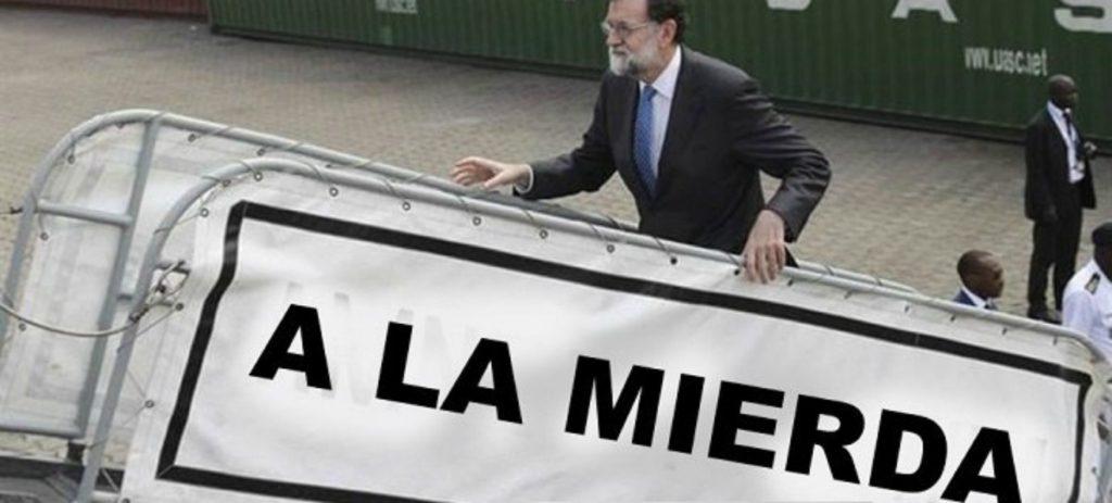 Rajoy dice que subirá las pensiones y le llevuen los zascas