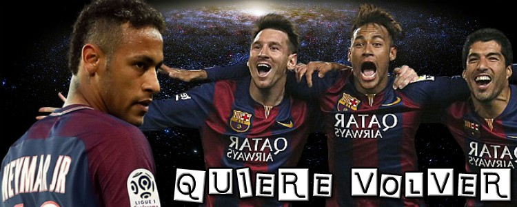 ¡Neymar pide volver al Barça en 2019!