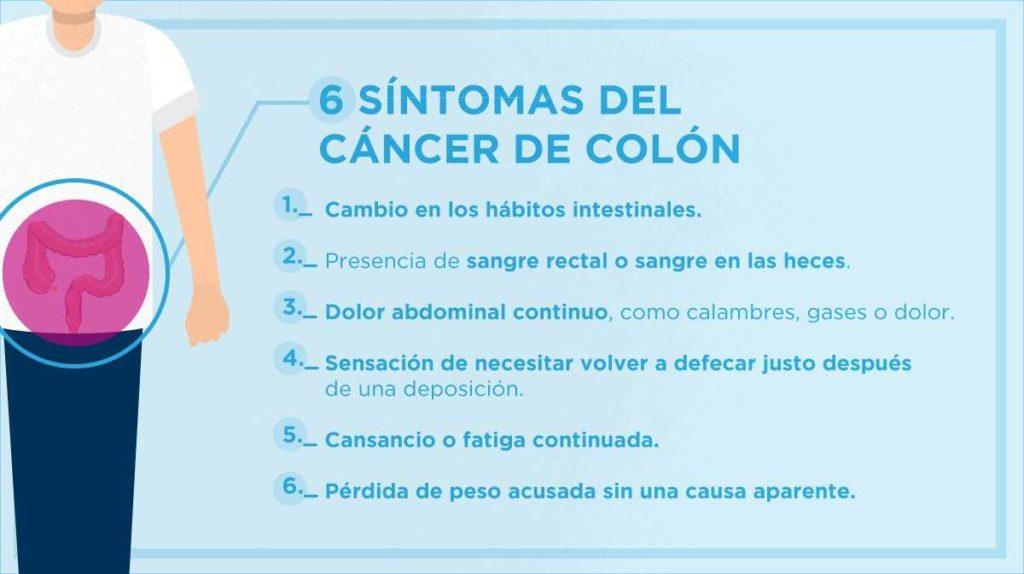 Los seis síntomas que alertan de un cáncer de colon