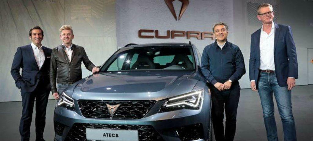 El nuevo Cupra Ateca saldrá a la venta por un precio de unos 43.000 euros