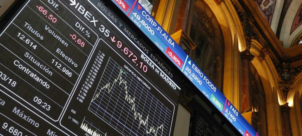 El IBEX 35 pierde el 2,97% esta semana y regresa a niveles de finales de febrero de 2017