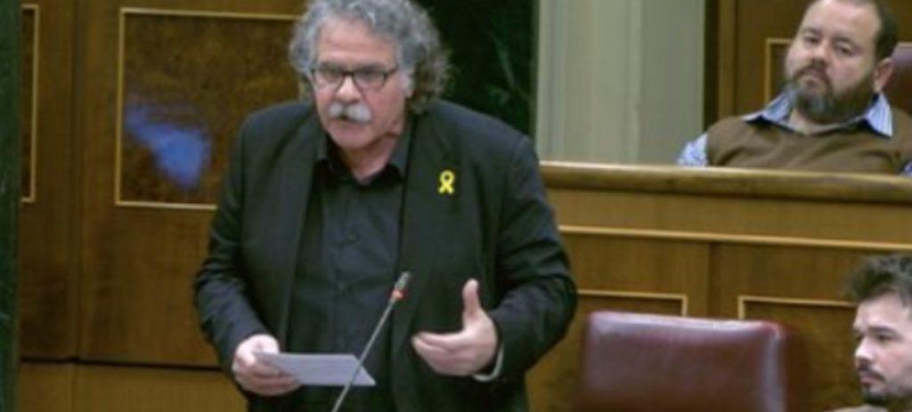 Zasca a Joan Tardà por comparar a Junqueras con Nelson Mandela