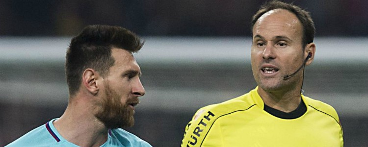 Felicidades: le han pitado un penalti al Barça