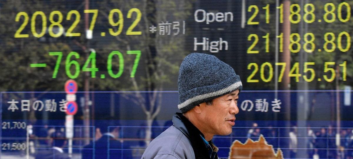 El Nikkei se desploma un 4,5% entre tambores de guerra comercial