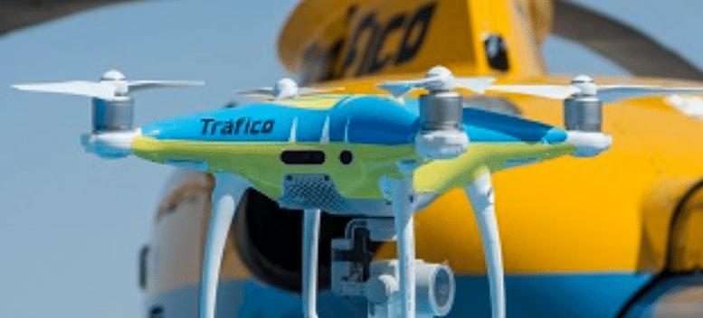 La DGT sacará sus drones este Puente de Mayo para controlar el tráfico