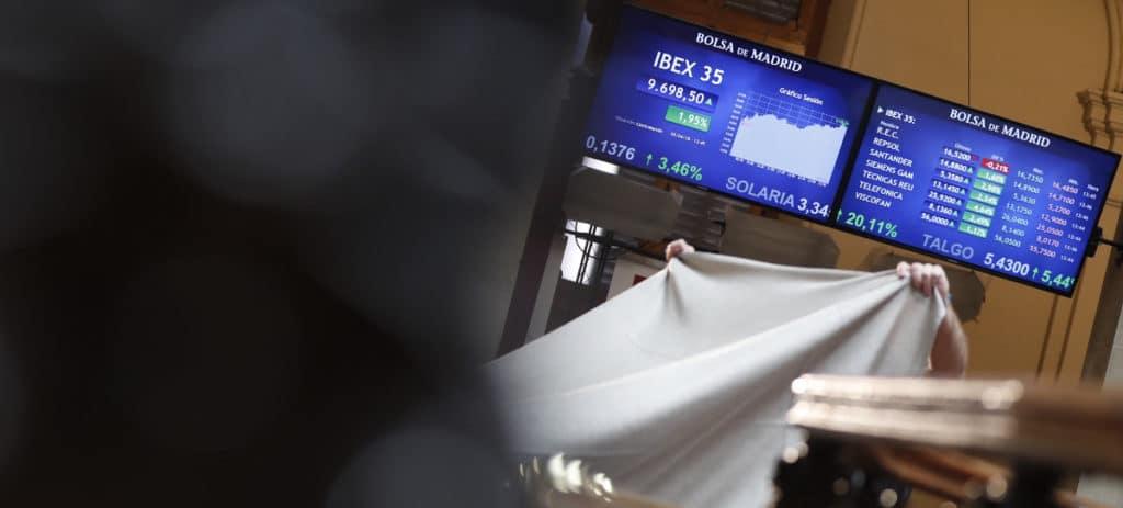 El Ibex pierde por la gran banca