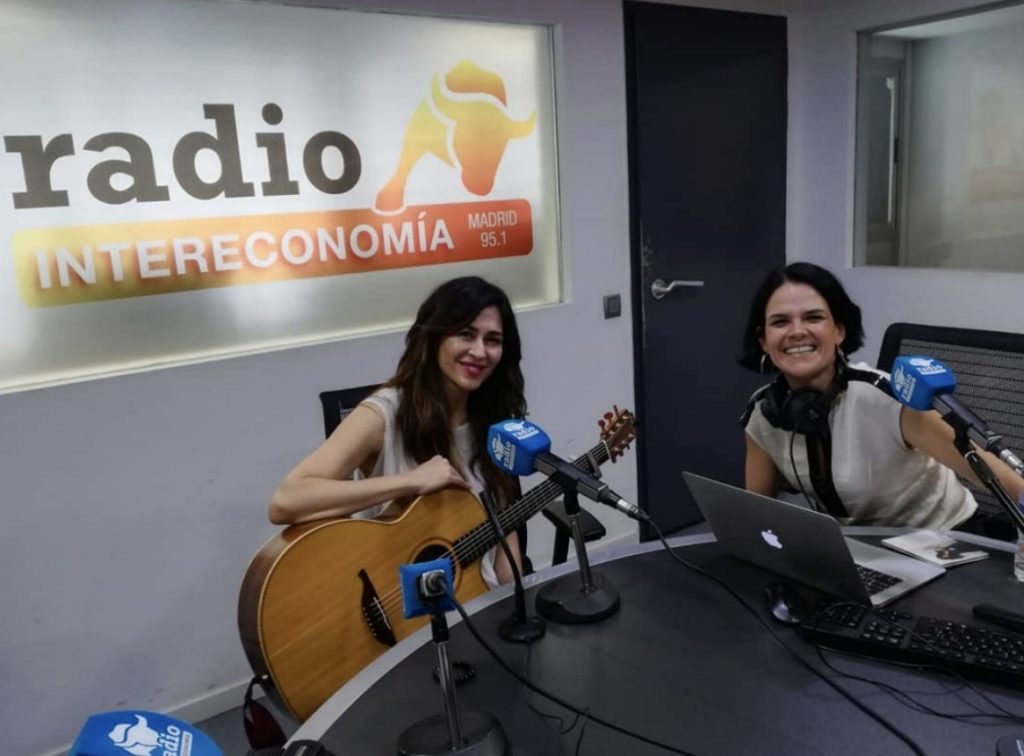 Marilia, cantante española, y el momento que está viviendo