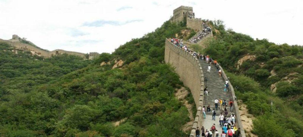 La Gran Muralla china, protegida con inteligencia artificial y drones