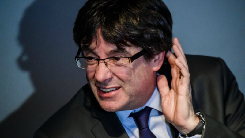 …y llamada a Puigdemont tras la reunión con Junqueras