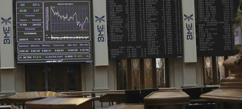 El IBEX 35 cae a mínimos anuales con Repsol perdiendo más del 2%