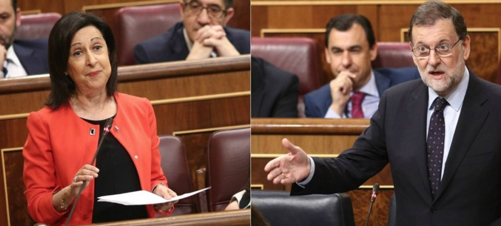 "Zasca de Rajoy a Margarita Robles : ""¡Ha regresado Torquemada!"""