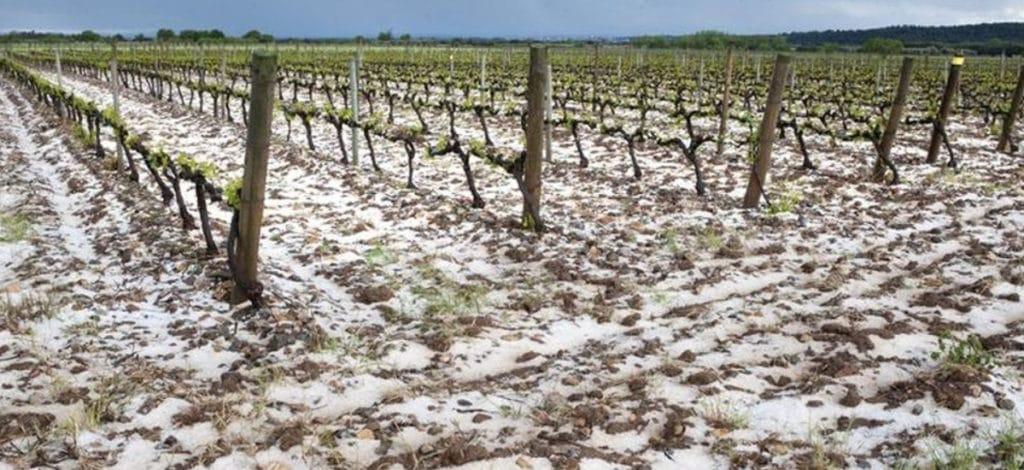 Las lluvias, nieve y granizo costarán a las aseguradoras casi 200 millones
