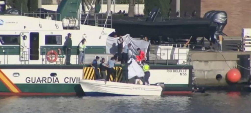 La lancha que causó la muerte al menor en Algeciras había sido requisada e investigada por la Guardia Civil