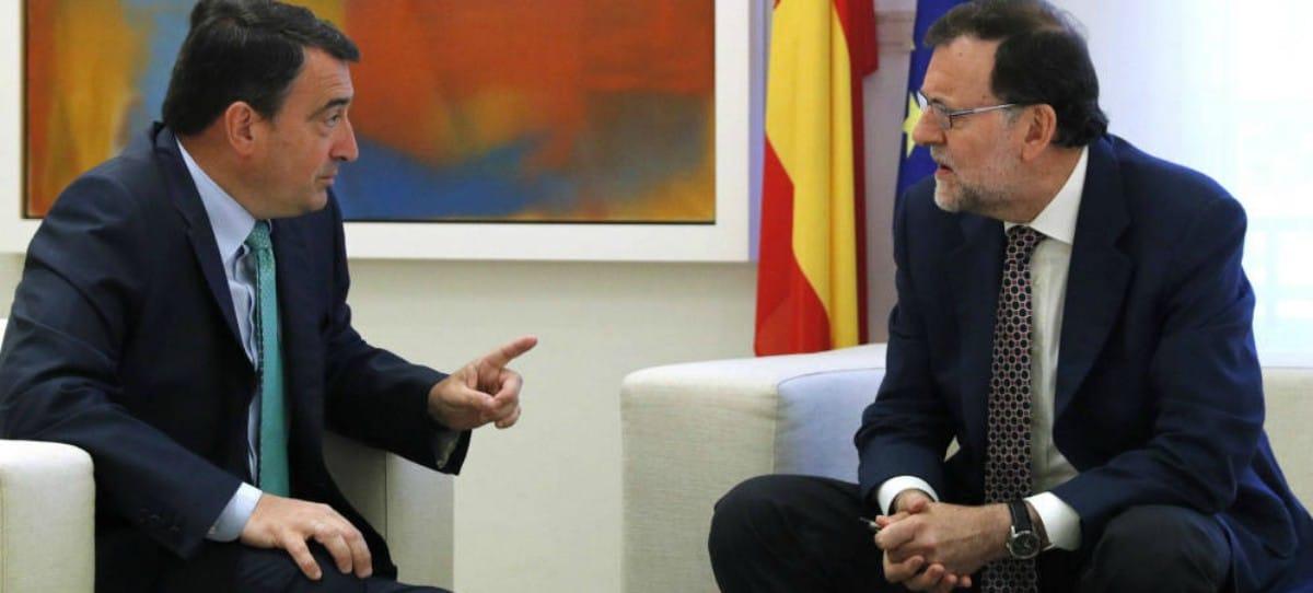 El PNV podría perder 540 millones de euros con la moción de censura