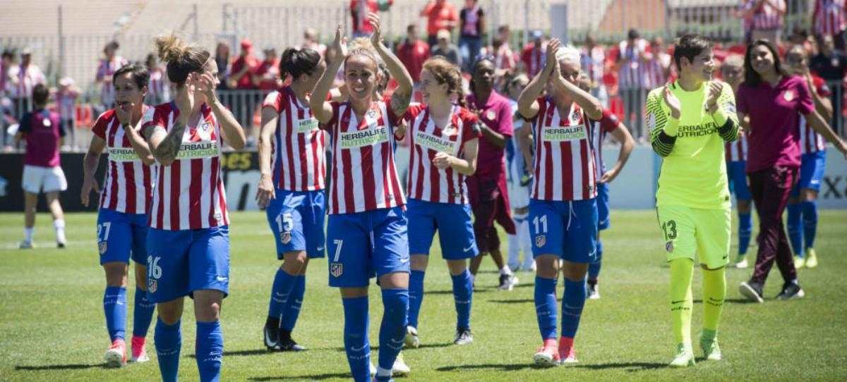 Prima jugadoras del Atlético: 54 euros por ganar la Liga; los del Madrid, 300.000