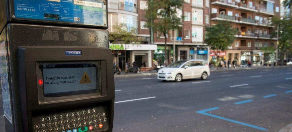 Qué vehículos no podrán circular por Madrid en picos de no2