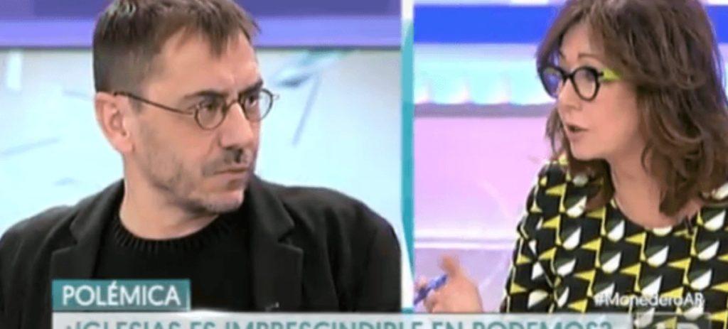 Monedero defiende a Maduro: 'hay problemas, pero no es un dictador'