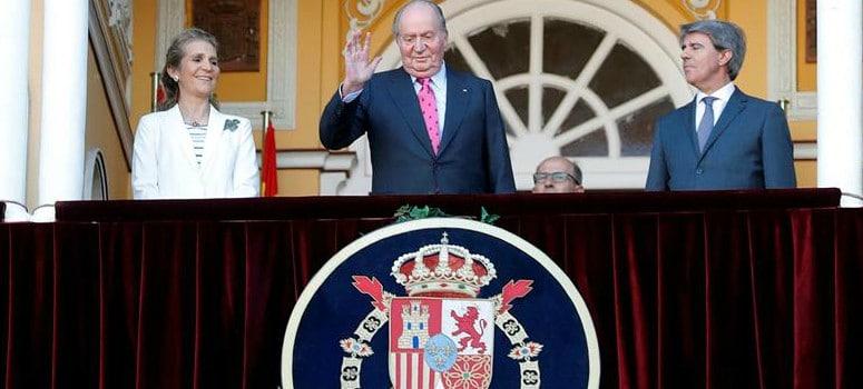 El Rey Juan Carlos vuelve a los toros en la Feria de San Isidro