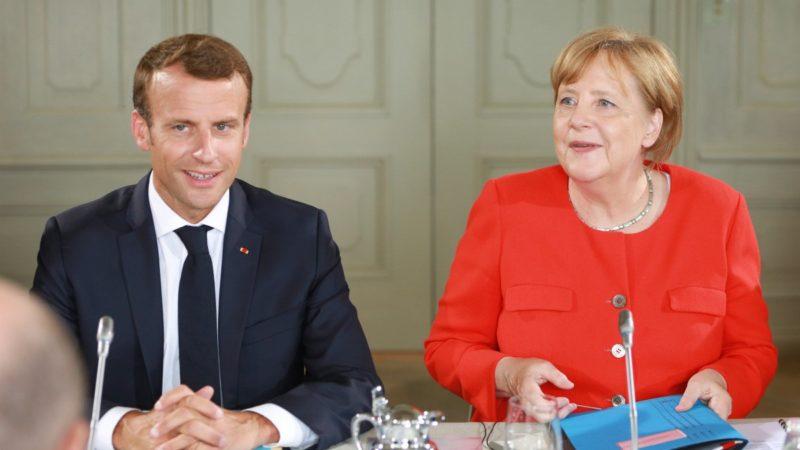 Macron y Merkel ultiman un plan migratorio similar al aplicado por Trump