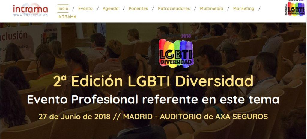 Segunda Edición del Evento LGBTI Diversidad 2018 organizado por  INTRAMA