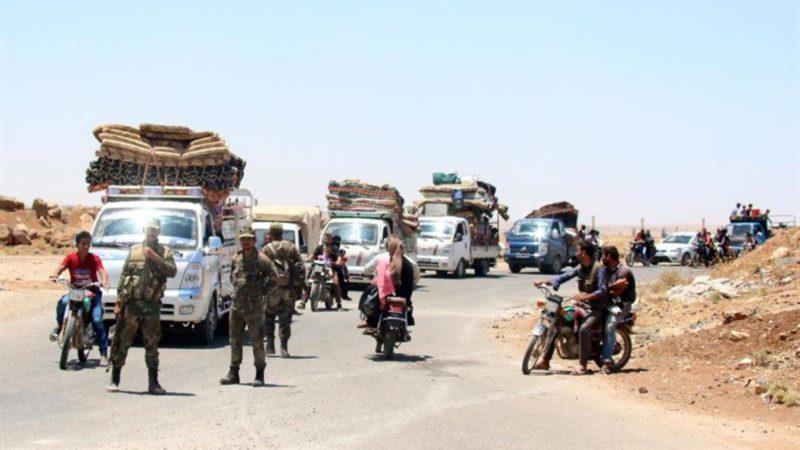 Los yihadistas retienen a 30.000 civiles en Siria para usarlos como escudos