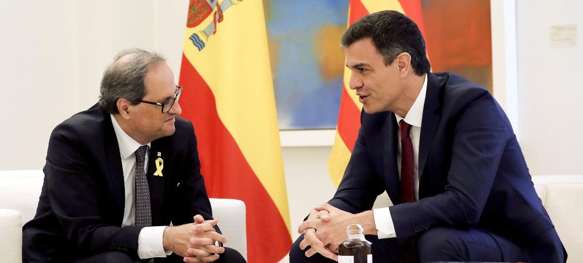 Otro guiño de Sánchez a Torra: Cataluña, considerada 'bono basura', podrá emitir deuda