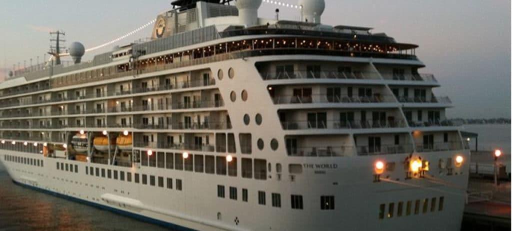 'The World', el crucero de los millonarios: 6,5 millones por una habitación