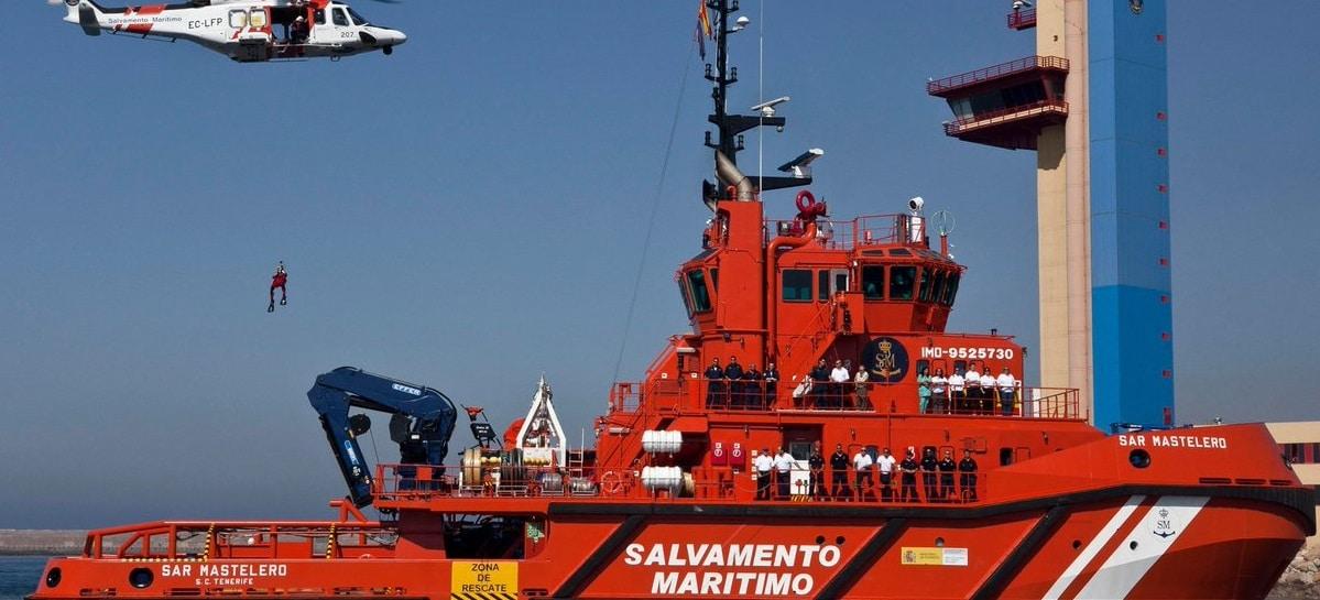 377 inmigrantes rescatados por Salvamento Marítimo en menos de 12 horas