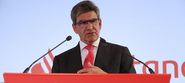 El CEO del Santander descarta compras o fusiones y apuesta por el dividendo