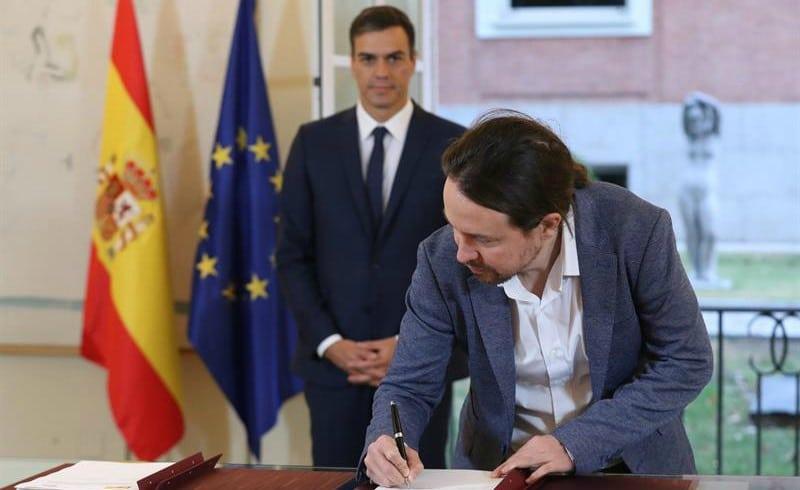 Iglesias, emisario de Sánchez ante ERC para conseguir apoyo para los Presupuestos