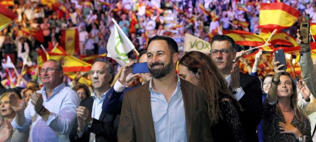 Vox llena Vistalegre bajo el lema 'La España viva'