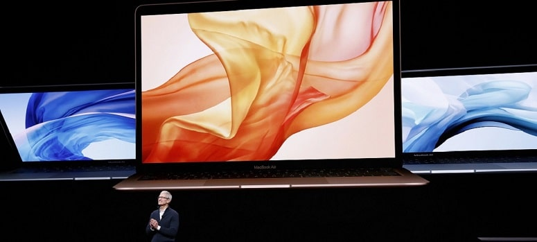 Apple anuncia un nuevo MacBook Air con pantalla retina y de aluminio reciclado