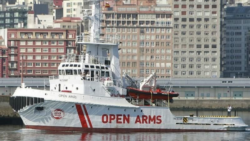 El barco Open Arms se instala de forma indefinida en Motril y continuará con sus 'rescates'