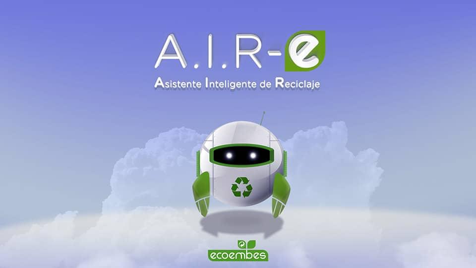 Ecoembes lanza A.I.R-e, el primer asistente virtual de reciclaje