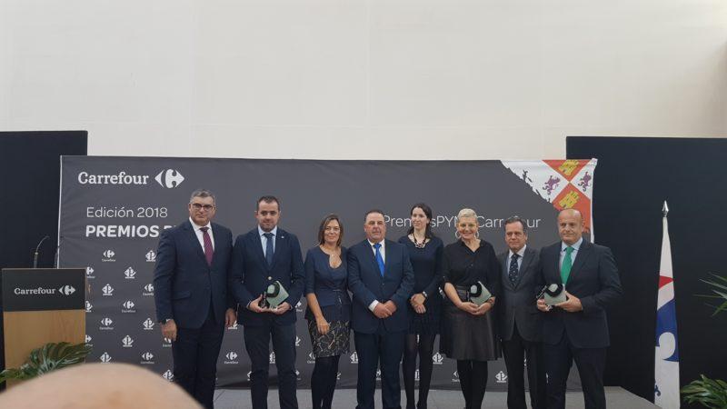 Dehesa Grande y Pharmadus, premios Carrefour a la Mejor Pyme