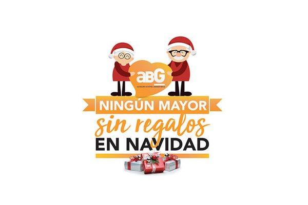 La campaña #NingúnMayorSinRegalos de ABG repartirá más de 1500 regalos a mayores hospitalizados estas Navidades