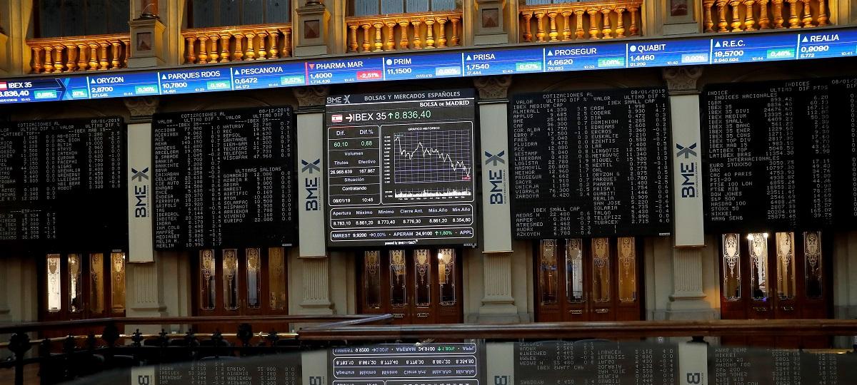 Segunda semana de caída en el IBEX 35 con los bancos de protagonistas