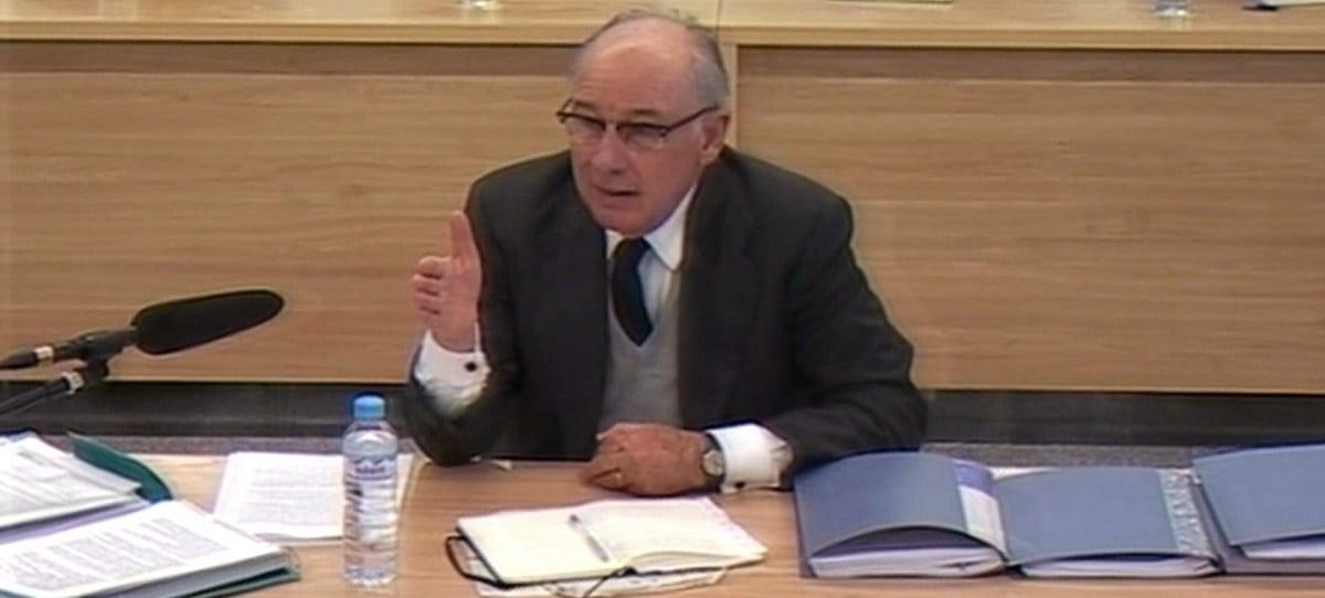 Rato, a favor de sustituir a la fiscal para continuar con el juicio de Bankia