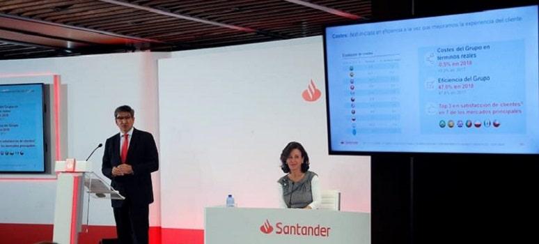 Las tres principales causas del ERE del Banco Santander