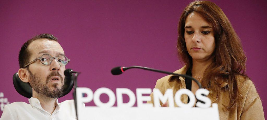 Podemos, socio del PSOE de Sánchez, propone echar un Gobierno por referéndum y con sólo el 15% del censo