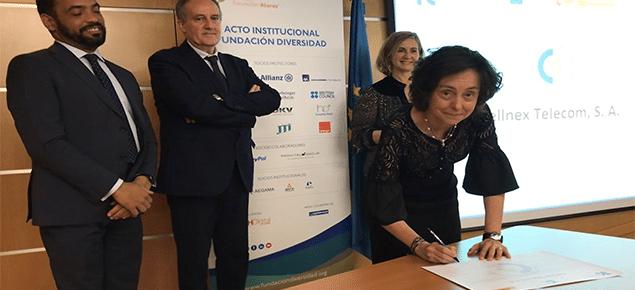 Cellnex Telecom se suma a la iniciativa del Charter de la Diversidad en España