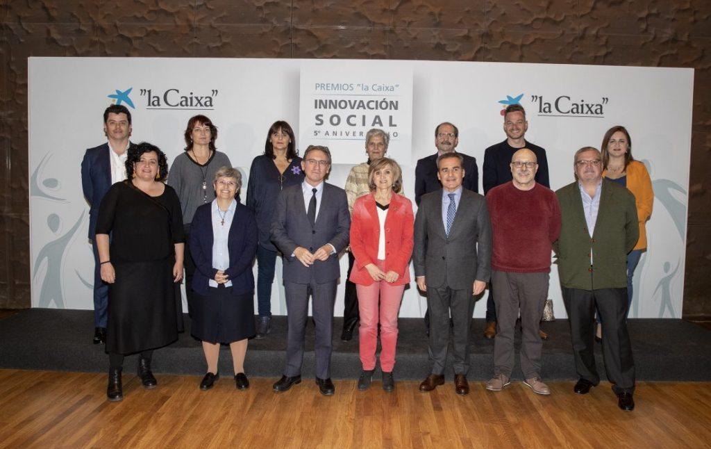 """La Obra Social """"la Caixa"""" premia los proyectos sociales más innovadores del año"""