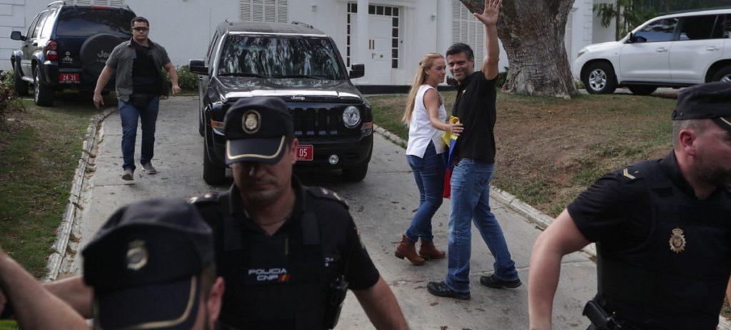 Leopoldo López afirma que habrá nuevos alzamientos militares contra Maduro